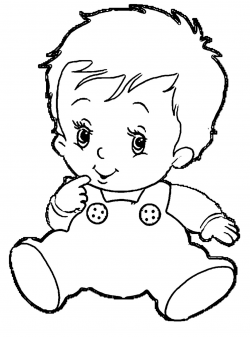 Infant Clipart Black And White - Letters
