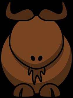 Water Buffalo With No Eyes Clip Art at Clker.com - vector clip art ...