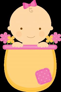Flowerpot Babies - ClipArt.BabyinFlowerpot_Pink_Yellow.png - Minus ...
