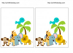 Blank Baby Shower Clip Art | Free Jungle Baby Shower Invitations ...