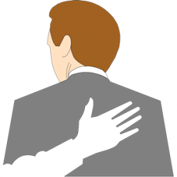 Clip Art Pat On The Back Clipart