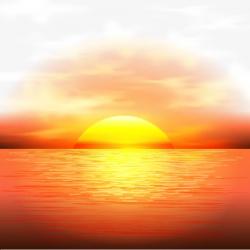 Vector Sunset, Maritime, Dusk, Sun PNG Transparent Clipart ...
