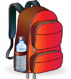 School backpack clipart free images 8 2 - WikiClipArt