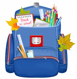 Blue School Backpack PNG Clipart | Gallery Yopriceville - High ...
