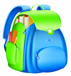 School Backpack Clipart | Gallery Yopriceville - High-Quality ...