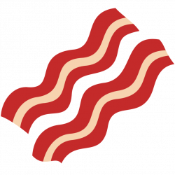 28+ Collection of Bacon Clipart Transparent | High quality, free ...