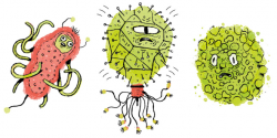 It's Catching': Children's guide to microbes also a useful primer ...