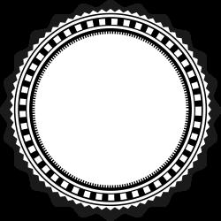 OnlineLabels Clip Art - Fancy Badge