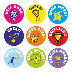 Mini Well Done Stickers | STICKERS | Teacher stickers ...
