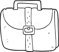clipart black and white bag 9 | Clipart Station