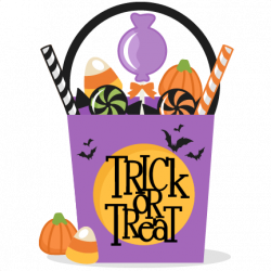 Trick or treat clipart trick or treat clip art trick or treat bag ...