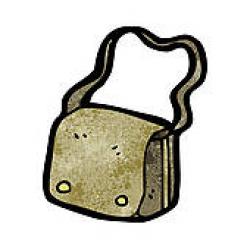 Satchel Clip Art - Royalty Free - GoGraph