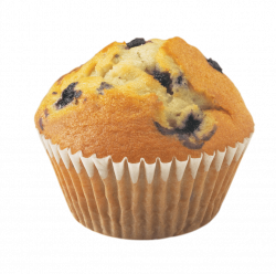 Muffin Blueberry transparent PNG - StickPNG