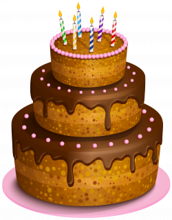 Birthday Cake Transparent PNG Clip Art Image | Gallery Yopriceville ...