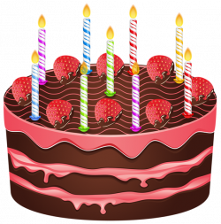 Birthday Cake PNG Transparent Clip Art Image | Gallery Yopriceville ...
