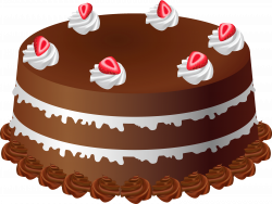 Chocolate Cake Art PNG Large Picture   Gallery Yopriceville - High ...