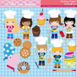 Cooking Clipart Baking Clipart Little Baker Cooking