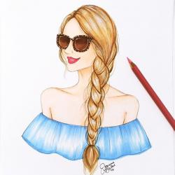 105 best Joanna Baker images on Pinterest | Fashion drawings ...
