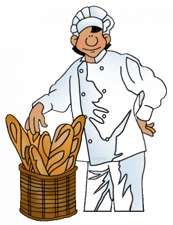 Grain and Bread Clip Art by Phillip Martin, French Baker