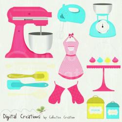 Kitchen Utensils Border Clipart Clip Art Library | Kitchen Design ...