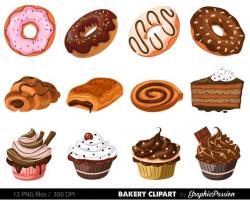 Bakery Clipart Cake Clip art Pie clip art Ginger house