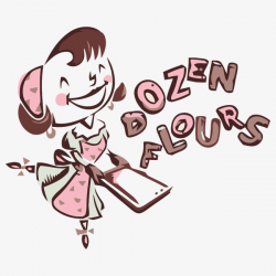 Baking Logo, Food, Cartoon Girl PNG Image and Clipart for Free Download
