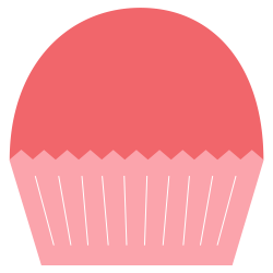 Pink Cupcakes Clipart   Clipart Panda - Free Clipart Images