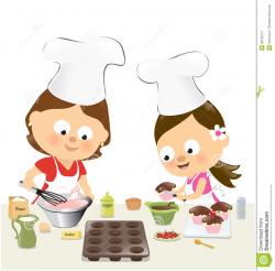 Baking Cupcakes Clipart