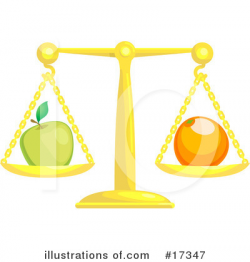 Scales Clipart #17347 - Illustration by AtStockIllustration