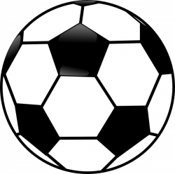 Black And White Ball Clipart