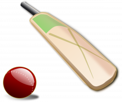Cricket ball and bat Icons PNG - Free PNG and Icons Downloads