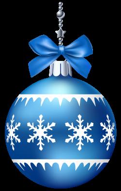 Blue Christmas Ball PNG Clip Art - Best WEB Clipart