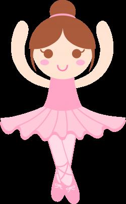 Little Girl Ballerina Clipart