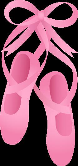 Pink Ballet Slippers | Ballet shoes | Pinterest | Ballerina, Clip ...