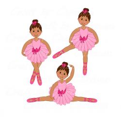 Ballerina clip artballet digital art dancer scrapbook