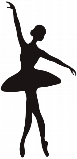 Ballerina Silhouette PNG Clip Art Image | Gallery Yopriceville ...