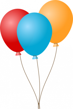 Birthday balloons clipart craft projects 3 - Clipartix