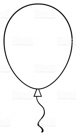 Pleasurable Balloons Clipart Black And White Balloon 1 Station - cilpart