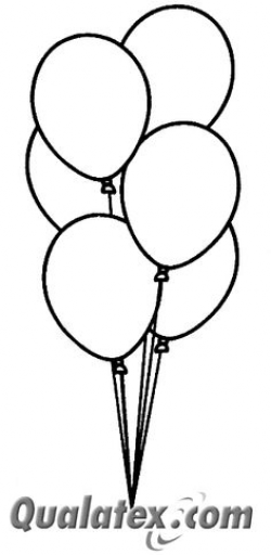 Balloon Clipart Black And White | Clipart Panda - Free Clipart Images