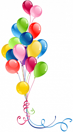 Transparent Bunch Balloons Clipart | Pretty Things | Pinterest ...