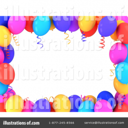 Balloons Clipart #1063415 - Illustration by BNP Design Studio