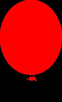 Stylist Design Red Balloon Clipart Dark Free 1108 - Free Clipart