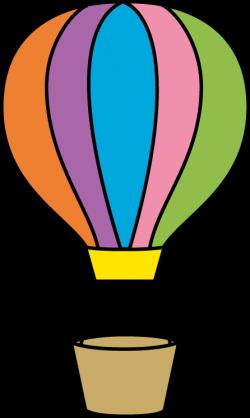 Colorful Hot Air Balloon | SMALL BORDERS | Pinterest | Hot air ...