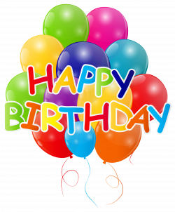 bunch of balloons clipart happy birthday with bunch of balloons png ...