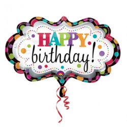 Happy Birthday Balloons Clipart   Free Images at Clker.com - vector ...
