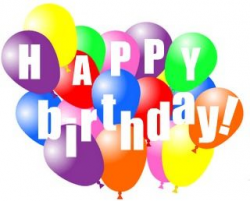 Happy Birthday Balloons Clipart   Clipart Panda - Free Clipart Images