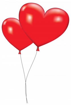Orange Balloon Clipart Large Red Heart Balloons Png Clipart Picture ...