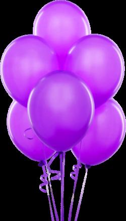 Purple Transparent Balloons Clipart | Art studio | Pinterest ...