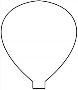 Profitable Hot Air Balloon Templates 12 Free Printable Balloons And ...