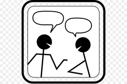 Dialogue Conversation Speech balloon Clip art - To Respond Cliparts ...